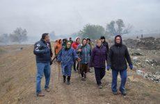 13 ноября в селе Копчак был проведён массовый субботник в рамках которого была очищена центральная мусоросвалка