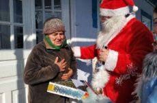 Пенсионеры Копчака получили подарки и поздравления от примэрии и Дома Культуры со Старым Новым годом