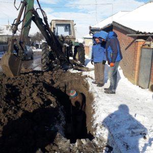 Коммунальная служба примэрии ликвидировала прорыв центральной водопроводной магистрали по улице Крупская