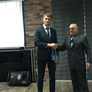 Уроженец Копчака Сергей Франжев признан лучшим борцом Северного Кипра во взрослой категории
