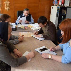 Начало реализации проектов по строительству туалетов в лицеях им. С.И. Барановского и Б. Янакогло.