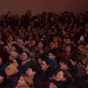 Праздничный концерт, посвященный Международному женскому дню в с.Копчак