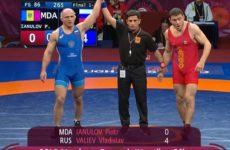 Петр Янулов стал серебряным призером Чемпионата Европы по вольной борьбе 2019