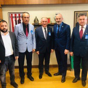 24 апреля состоялась встреча примара с.Копчак, экспримара г.Орхангази с депутатом Великого Национального собрания Турции