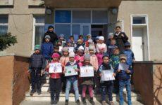 Акция самых маленьких жителей с. Копчак — «Мы за чистое село»