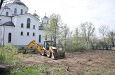 В селе Копчак приступили к строительству бювета