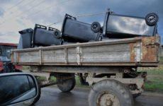 Примэрия с. Копчак закупила 100 контейнеров для мусора