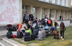 13 мая в с.Копчак прибыли волонтёры из Германии