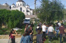 Экскурсия по старой и новой церкви с.Копчак для танцевального коллектива из Турции
