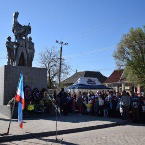 В селе Копчак прошел торжественный митинг, посвященный Дню Победы