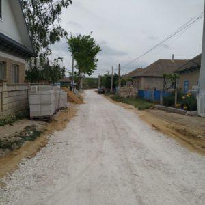 Завершилось строительство дороги в белом варианте по ул. 8 Марта
