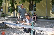 Группа волонтеров из Германии реализовывают благотворительные проекты в с.Копчак