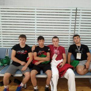 Борцы с.Копчак приняли участие в чемпионате мира по татарской борьбе на поясах Корэш