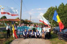 Фольклорный коллектив с.Копчак и танцевальный коллектив «Чекирге» в Болгарии