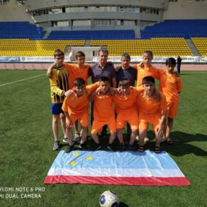 Команда по футболу с.Копчак заняла 13 из 60 место на Всемирных играх юных соотечественников в России