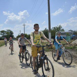 16 июня в с.Копчак прошел первый велопробег