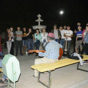 Вечером, в субботу, 20-го июля состоялся музыкальный вечер