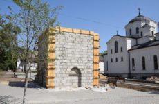Примэрия продолжает строительство первого бювета в Копчаке