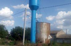 Произведена покраска трех водонапорных башен