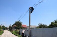 Более 100 ламп заменено в уличных светильниках Копчака.