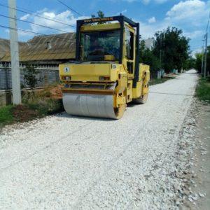 Завершился ремонт дороги по улице Фрунзе в белом варианте