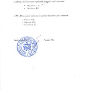 График заседаний профильных комиссий местного совета, назначенных на 20 августа