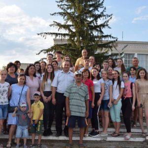 Вечером, 2-го августа, в Турцию выехала делегация отличников учебы обоих лицеев с.Копчак
