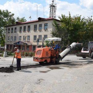 Центральная дорога Тараклия-Копчак ремонтируется полным ходом