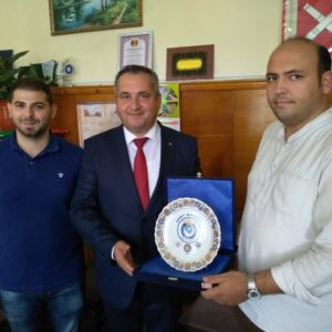 Состоялась встреча Олега Гаризан с представителями федерации профсоюзов Турции
