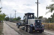 Примэрия села Копчак приступила к ремонту улицы Гоголя