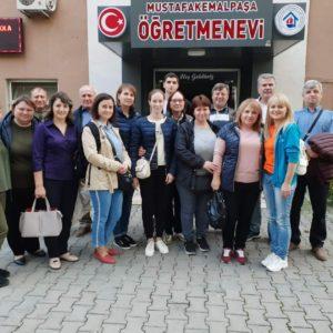 В Турцию выехала очередная делегация жителей села Копчак по обмену опытом
