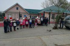 Детский сад номер 4 провел экологическую акцию «Kaç insan okadar fidan»