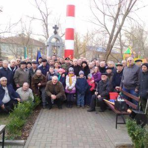 Ликвидаторы аварии Чернобыльской АЭС из с. Копчак приняли участие в открытии памятника в Чадыр-Лунге
