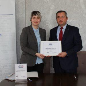 Примэрия Копчака подписала соглашение о сотрудничестве в рамках проекта «Привлечение муниципалитетов и гражданского общества к развитию регионов Гагаузии и Тараклии»
