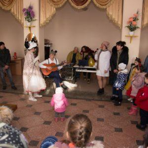 28 декабря, в Доме Культуры прошел новогодний утренник, для детей работников бюджетной сферы села