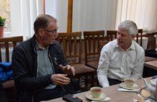 Руководство австрийского проекта «We help» посетили Копчак оценив техническое состояние пожарного депо