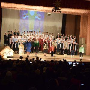 8 января, на сцене Дома Культуры с. Копчак, состоялся традиционный Рождественский концерт