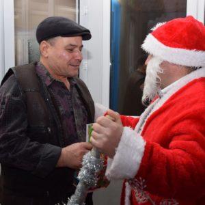 Примэрия и ДК поздравили пожилое поколение Копчака со Старым Новым годом