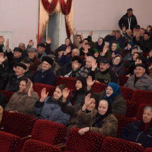 (ВИДЕО) В Копчаке состоялось отчетно-выборное собрание совета пенсионеров села