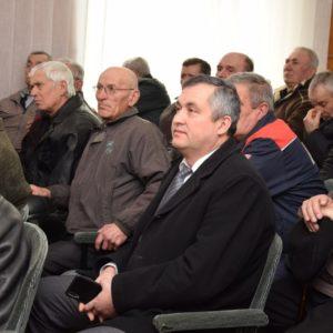 22 февраля состоялось собрание пенсионеров