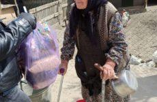 Примэрия совместно с Советом пенсионеров с. Копчак передали продуктовые наборы пенсионерам села