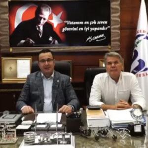 Мэр турецкого города Mustafakemalpasa, Mehmet Kanar поздравил жителей Копчака с днём Храма и днём села