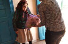 В Копчаке 50 пожилых людей получили продуктовые пакеты от примэрии села в преддверии дня пожилого человека