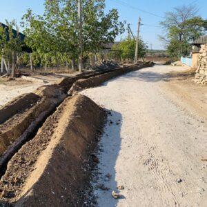 В Копчаке проводится новая водопроводная сеть по улицам микрорайона