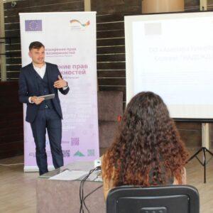 Примэрия совместно с Ассоциацией женщин «Надежда» получили сертификат на реализацию проекта строительства 2-х бюветов