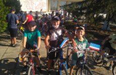 Празднование годовщины основания села сопровождалось велопробегом
