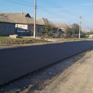 Проводится ремонт дорожного покрытия в асфальте по улице Советская