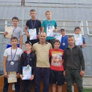 Учащиеся ДЮСШ с. Копчак заняли призовые места в Чемпионате Гагаузии по вольной борьбе
