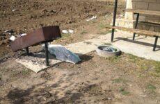 В Копчаке совершен акт вандализма при въезде в село