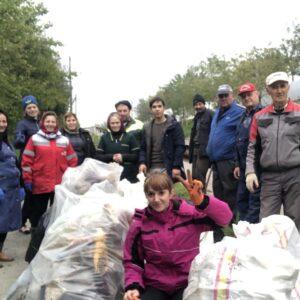 Копчак объединился для санитарной уборки.  Массовый субботник собрал более 500 жителей села (Часть 2)